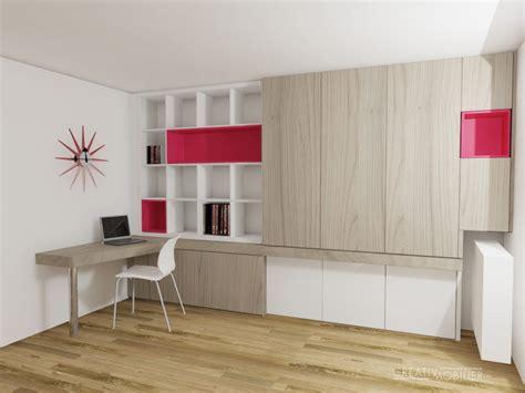 bureau pour salon création de bibliothèques bureaux meubles salon sur