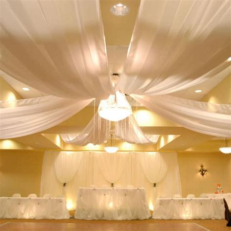 draping images 6 panel sheer voile 30ft ceiling draping kit 62 wide