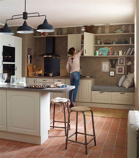 cuisine delinea cuisine en bois un matériau plusieurs styles