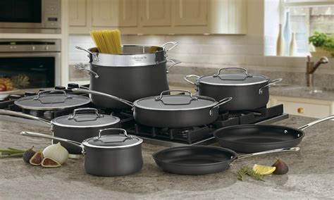 top   hard anodized cookware sets