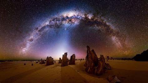 Milky Way Over The Pinnacles Desert Nambung National Park