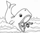 Whale Coloring Jonah Pages Printable Print Getcolorings sketch template
