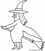 Witch Coloring Witches Broom Halloween Pages Colouring Broomstick Flying Drawing Hat Printable Bigactivities Happy Fairy Bats Draw Getdrawings Getcoloringpages Scary sketch template
