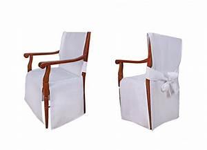 Kunstfelle Für Stühle : stuhlhussen f r st hle mit armlehne modell monaco wei gdt1 w ~ Orissabook.com Haus und Dekorationen