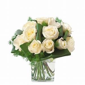 Bouquet De Fleurs Interflora : bouquet deuil traditionnel de roses interflora ~ Melissatoandfro.com Idées de Décoration