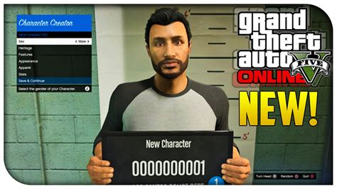 New Character Creation Screen, Heists On