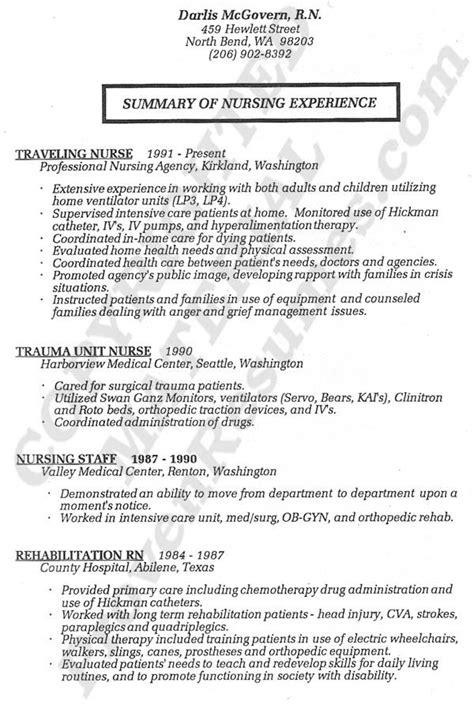 nursing student resume australia resume registered resume service nurses rock registered resume