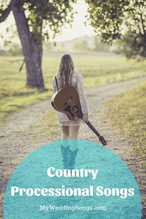 We recommend checking out our best wedding songs of all time as well as this curated list. Walking Down The Aisle Songs Country in 2020 | Processional songs, Processional wedding songs ...