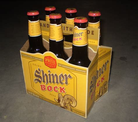 shiner bock field journal shiner bock the bottle cap brew blog