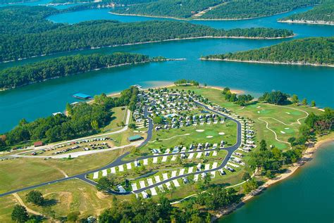 Ozarks Luxury RV Resort on Table Rock Lake near Branson MO