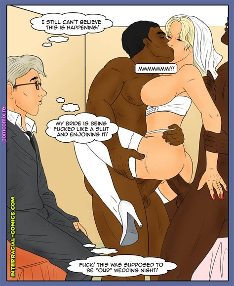 Wedding Surprise Interracial Porn Comix Online