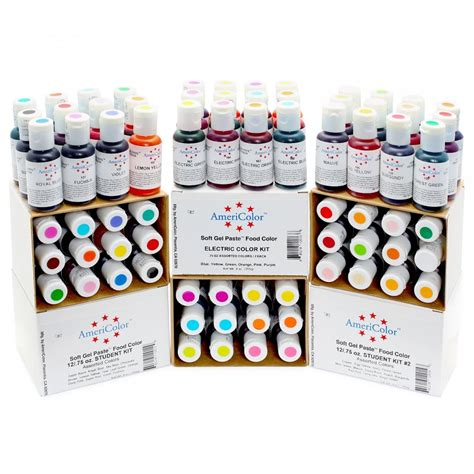 food coloring paste americolor bright white soft gel paste icing food