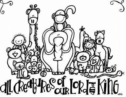 Creatures Lds Melonheadz Coloring Clip Pages God
