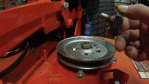 Fixing A Spindle Shaft On A Zero Turn Mower   Kubota Z725