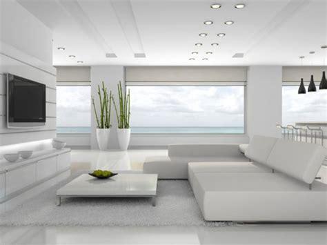 دکوراسیون منزل سفید با طراحی مدرن و جذاب