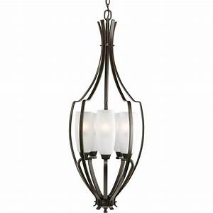 Progress lighting piedmont collection light burnished