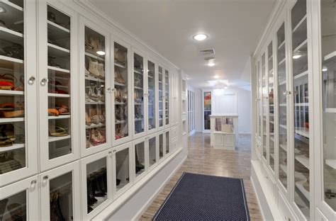 Lacquered glass wardrobes closet traditional with jewelry