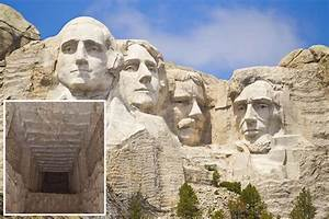 Take a look inside the secret room hidden in Mount Rushmore