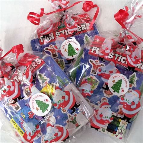 children s pre filled christmas goodie bags gifts kids party bags xmas favours ebay
