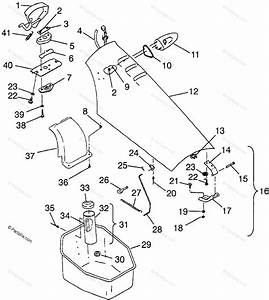Polaris Watercraft 1997 Oem Parts Diagram For Front
