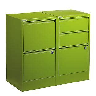bisley white 2 3 drawer locking filing cabinets the