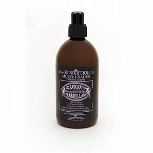 Savon Noir Parquet : savon noir liquide parfum lavande 500 ml le savonnier ~ Premium-room.com Idées de Décoration