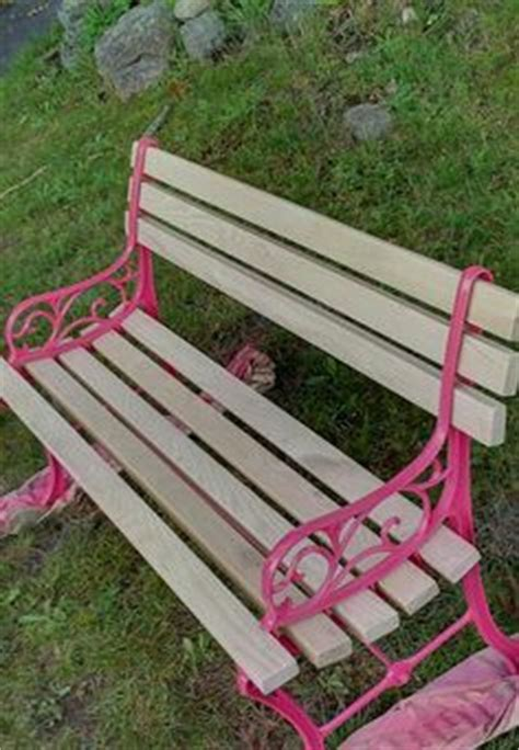 the 12 slat park bench from harbor freight tools will add