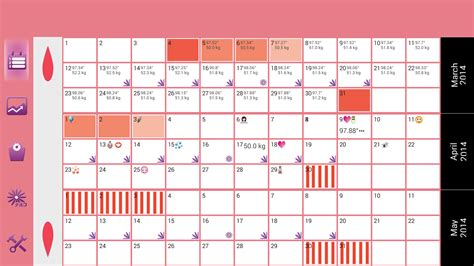 Search Results For Monthly Menstruation Calendar