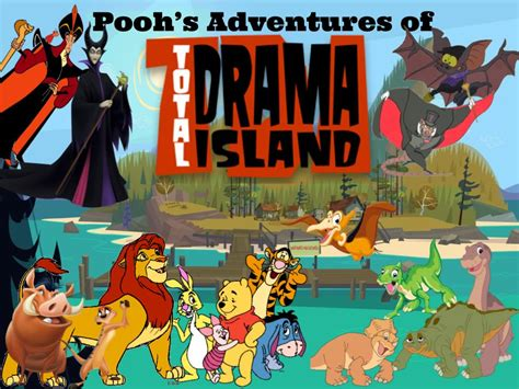 Pooh's Adventures Of Total Drama Island By Magmon47 On