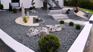 Gartengestaltung Mit Rindenmulch Und Steinen : gartengestaltung mit kies youtube ~ Bigdaddyawards.com Haus und Dekorationen