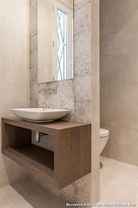 recouvrir carrelage mural salle de bain with contemporain With salle de bain sans carrelage mural