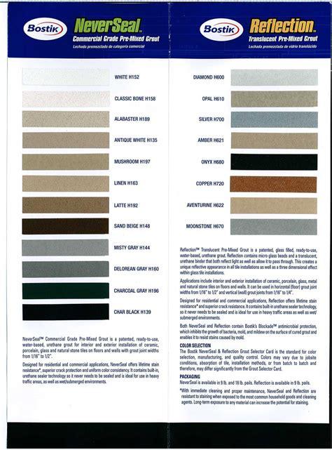 bostik never seal grout flooring101 bostik grout color card buy hardwood floors and flooring at lumber liquidators