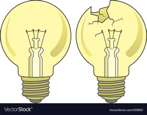 Light Bulb Royalty Free Vector Image-vectorstock