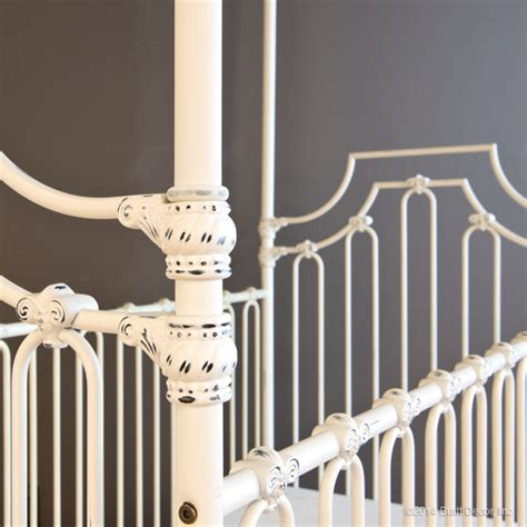 Heirloom Quality Furniture by Parisian 3 In 1 Crib Distressed White