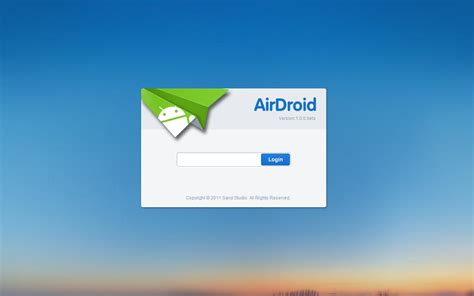 airdroid android app your android phone from pc the air how to