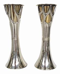 silver plate brass plate candle holders chairish With kitchen cabinet trends 2018 combined with silver antique candle holders