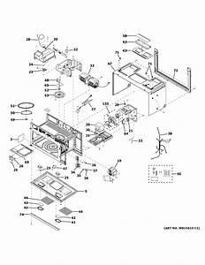 Ge Cvm721m2n1s5 Microwave  Hood Combo Parts