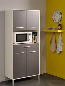 Kuchenschrank opika 4 80x185x43 cm weiss grau schrank for Küchenschrank grau