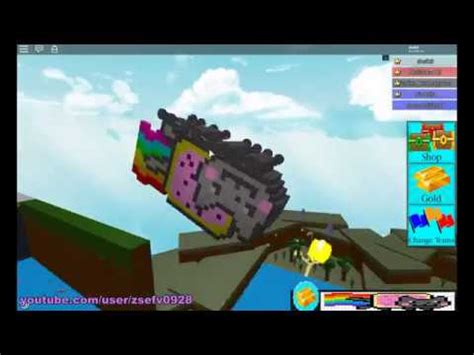 Flying Boat Build A Boat For Treasure by Flying Nyan Cat Car Roblox Build A Boat For Treasure