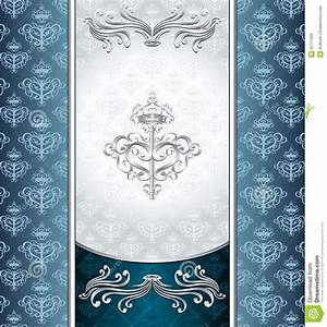 Royal Victorian Background With Seamless Pattern Royalty ...