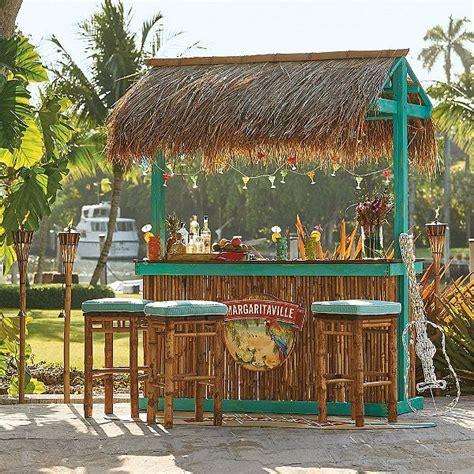 margaritaville trinidad tiki bar frontgate diy outdoor