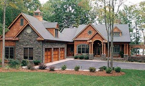 Stunning 12 Images Lake Home Plans With Walkout Basement