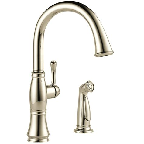 delta cassidy kitchen faucet delta cassidy single handle standard kitchen faucet with