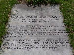 George Washington Carver Grave