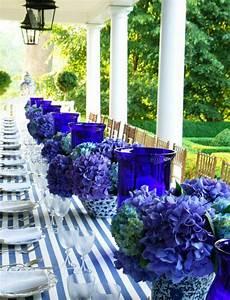 Tischdeko Blau Weiß : tischdeko in blau faszinierende ideen ~ Markanthonyermac.com Haus und Dekorationen
