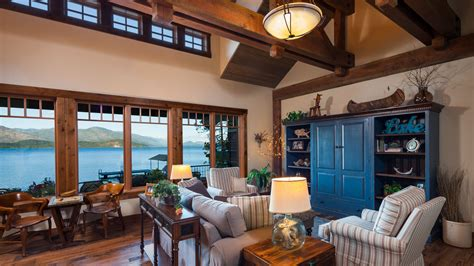 Living Rooms With Great Views by Mountain Architects Hendricks Architecture Idaho Lake