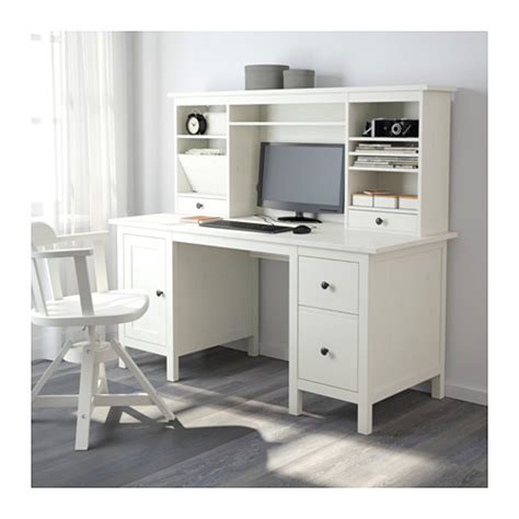 ikea hemnes desk uk hemnes desk with add on unit white stain 155x137 cm ikea