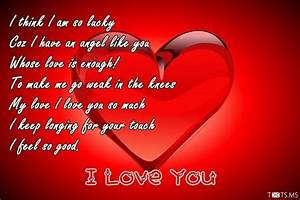 I Love You Poems for Girlfriend - Txts.ms