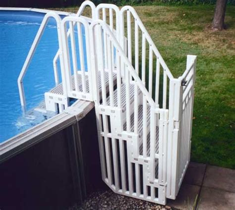 Above Ground Pool Steps For Decks Australia by Above Ground Pool Steps And Ladders Pool Accessories