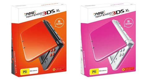 3ds xl colors new nintendo 3ds xl consoles getting new colors in europe